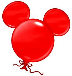 Mickey Balloon Clip Art