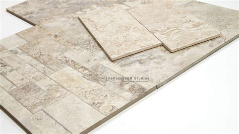 antico series travertine porcelain tile 2 shades tiledaily