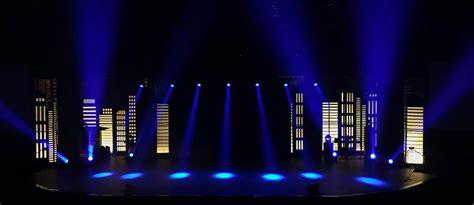 city night church stage design ideas