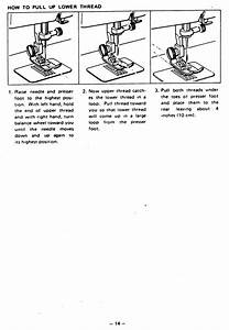 Brother Vx 757 760 770 Sewing Machine Threading Diagram