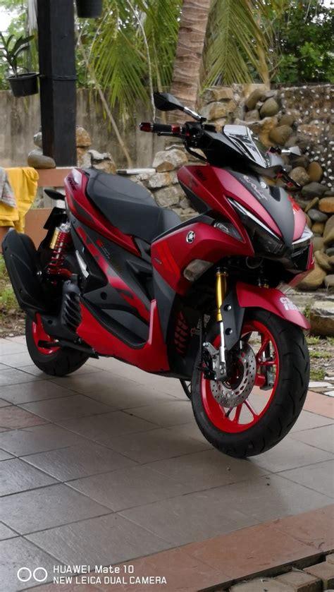 Aerok Modifikasi by Yamaha Nvx 155 Motorcycles