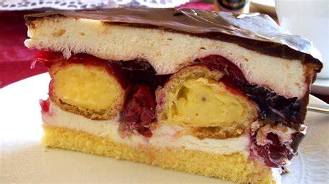 kirsch sahne einfache kirsch sahne torte rezepte suchen