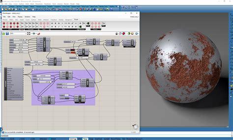 cycles nodes shader testing rust metal rendering