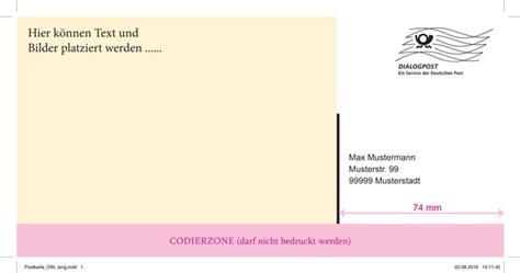 mailing vorlagen zum  deutsche post bestseller