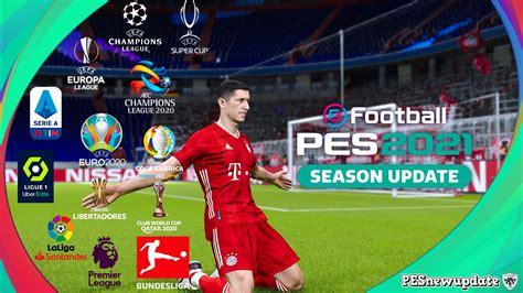 PES 2021 PC Option File Bundesliga, MLS, Jleague ...