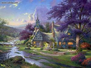 Drawing & Painting: Thomas Kinkade