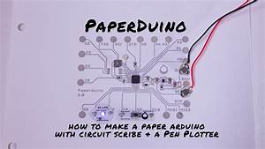 Paperduino 2 0 With Circuit Scribe  U2013 Paper Arduino