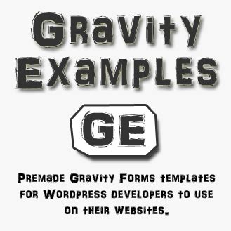 gravity form templates archives gravity form exles