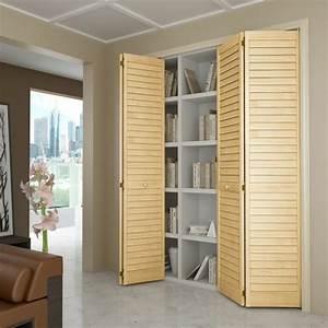 les portes de placard pliantes pour un rangement joli et With porte pliante placard ikea