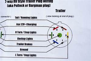 Wiring Diagram For A 6 Round Trailer Plug