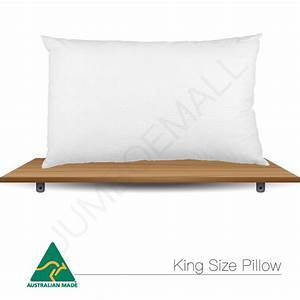 aus made standard v shape tri boomerang body king size With discount king size pillows