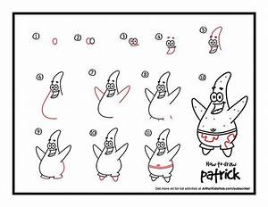 How To Draw Patrick From Spongebob - Art For Kids Hub ...