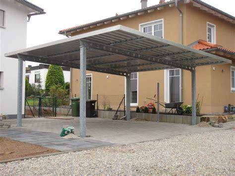 unterkonstruktion trapezblech garage doppel carport mit trapezblechdach fertiggaragen schweiz