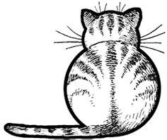 cat cartoon drawing images cute kittens