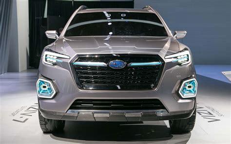 Comparison Subaru Viziv 7 Concept Ascent 2018 Vs