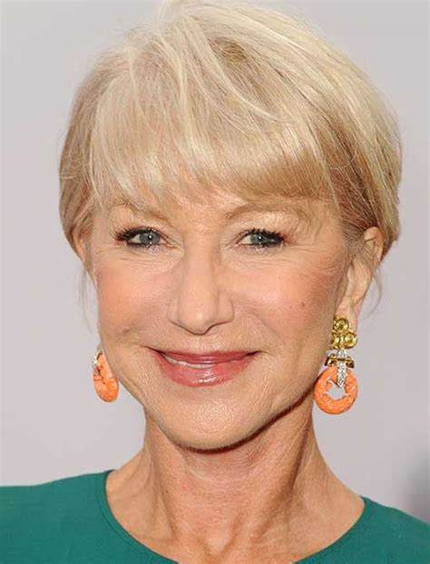 Very Stylish Short Haircuts For Older Women Over 50  Page 2 Hairstyles