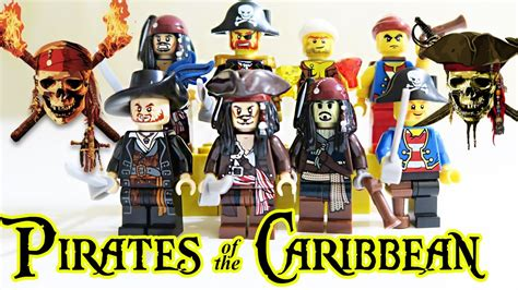 Pirates Of The Caribbean Minifigures Captain Jack Sparrow