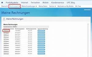 Vodafon Rechnung Online Ansehen : rechnung online ansehen upc ~ Themetempest.com Abrechnung