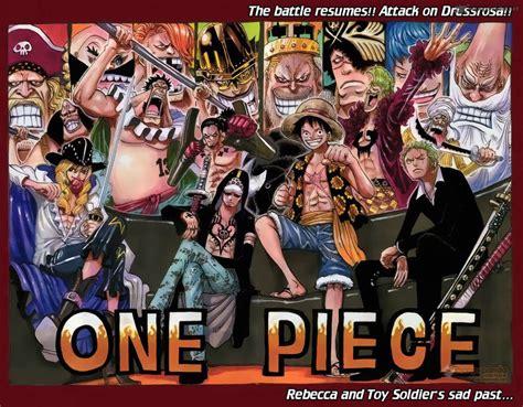 One Piece Dressrosa Cover By Naruke24 On Deviantart