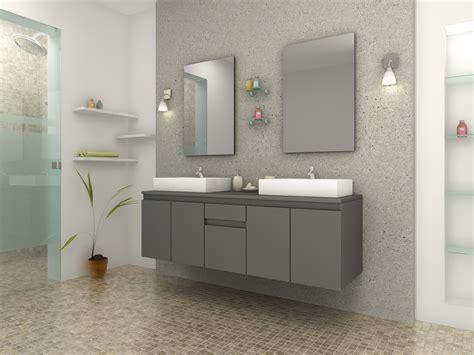canape usine meuble de salle de bain vasque carré gris mat