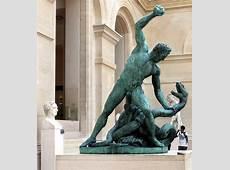 Hercule combattant Achéloüs, métamorphosé en serpent, by