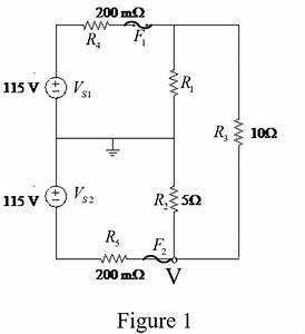 Solved  In The Circuit Shown In Figure P3 33  F1 And F2
