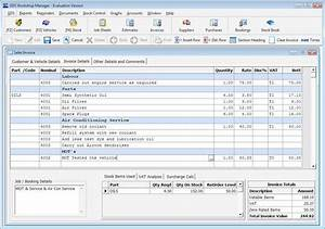 gds garage software gds workshop manager features With garage invoice software free
