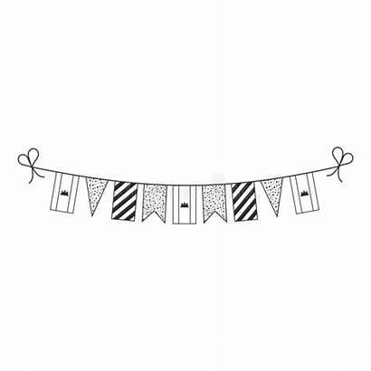 Cambodia Outline Flat National Bunting Flags Decorations