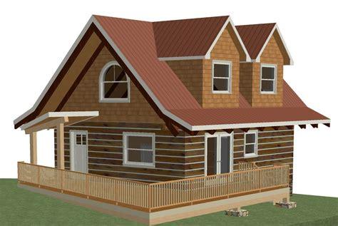 Log Cottage Plans Log Cottage Floor Plan 24 X28 672 Square