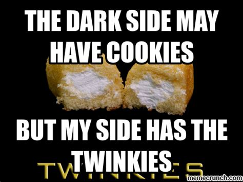 Side By Side Meme - the dark side may have cookies