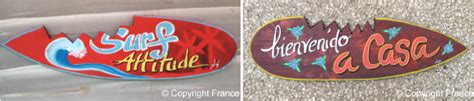 d馗oration surf chambre plaque deco plaque pancarte surf prénom de porte arega85 plaque décorative plaque déco bar plaque rétro personnalisée plaque rétro