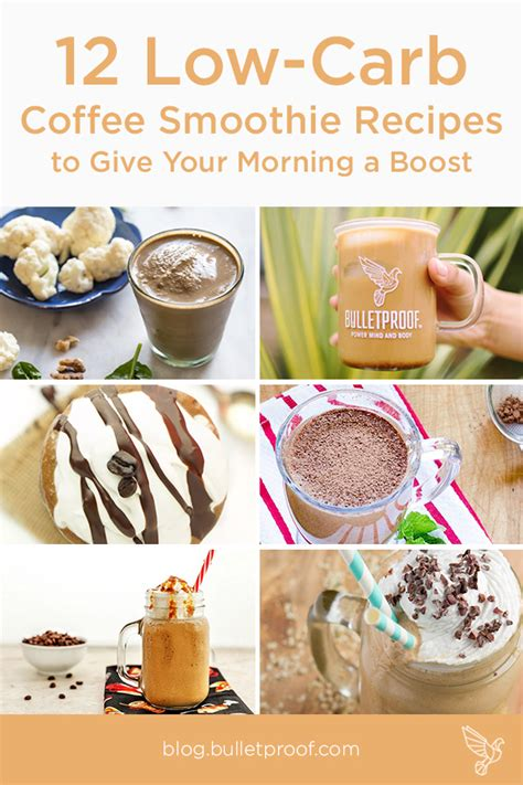 carb coffee smoothie recipes  give  morning