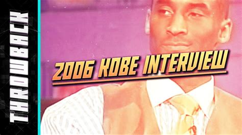 Kobe Bryant 2006 Full Interview ESPN with Stephen A. Smith ...