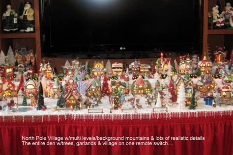 59 best images about christmas village displays on