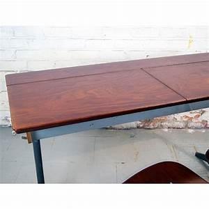 Banc Ecolier Vintage : banc d colier double 64 atelier belvedere ~ Teatrodelosmanantiales.com Idées de Décoration
