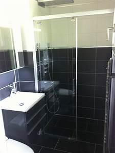 renovation de 2 chambre et salle de bain a sierre revey With porte de douche coulissante avec devis refection salle de bain
