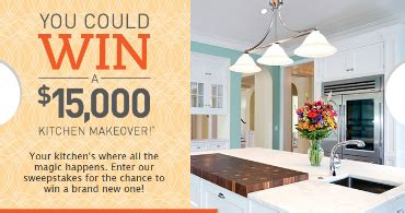 win a kitchen makeover 2014 unilever let s get dinner done instant win and 1901