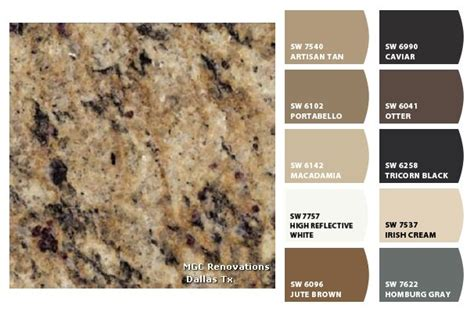 granite santa cecilia gold colorsnap by sherwin williams colorsnap by h for the