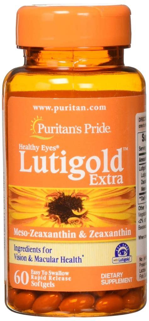 Amazon.com: Puritan's Pride Herbavision Gold with Lutein