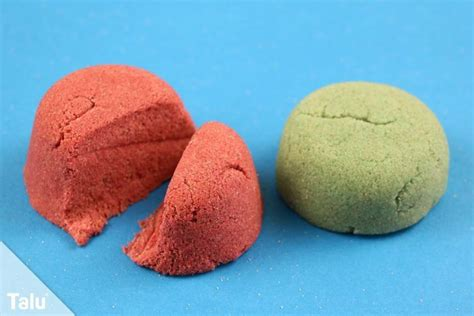 sand selber machen kinetischer sand anleitung zaubersand selber machen talu de