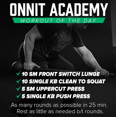 kettlebell mace workout steel onnit academy exercise training workouts weight reps press forward