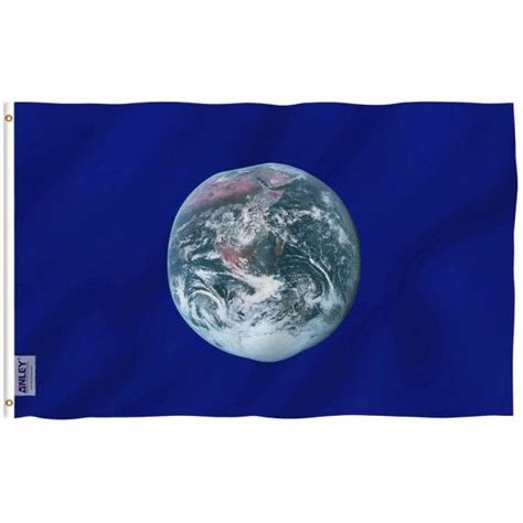 ANLEY Fly Breeze 3 ft. x 5 ft. Polyester Earth Day Flag 2 ...