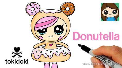 draw donutella easy tokidoki youtube