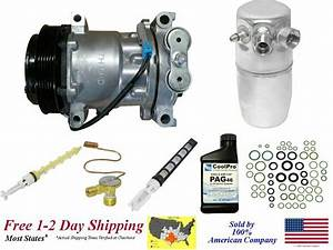 New A  C Ac Compressor Kit For  1996 1997 1998 1999 Gmc
