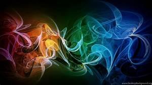 high, resolution, rainbow, smoke, wallpaper, backgrounds, full