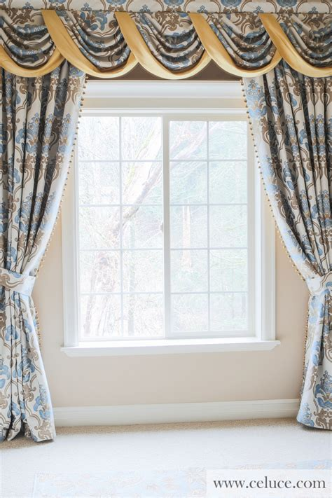 Valance Curtains by Masquerade Swag Valance Curtains