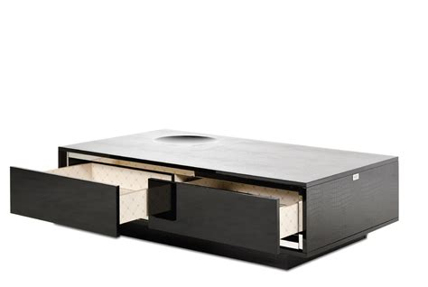 modern black table l a x grand modern black crocodile lacquer coffee table with