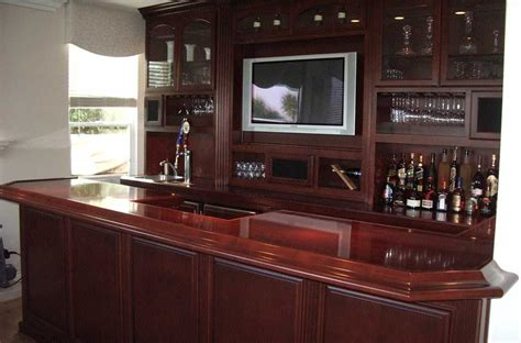 Custom Built Home Bars by Custom Home Bar Cabinets From Cabinet Wholesalers