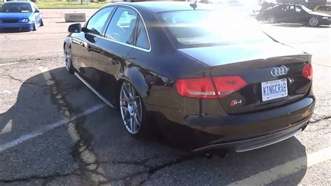 slammed audi s4 slammed audi s4 with hre rims youtube
