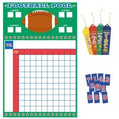 Open Office Football Pool by 100 Square Football Board 100 Square Football Pool Sheet